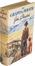 Books:Literature 1900-up, John Steinbeck. The Grapes of Wrath. New York: TheViking Press, [1939]....