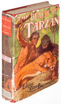 Books:Fiction, Edgar Rice Burroughs. The Beasts of Tarzan. New York:Grosset & Dunlap, [1916, though later]....