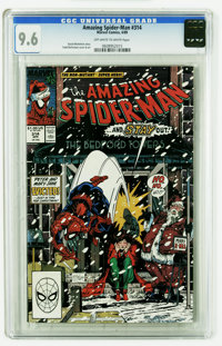 The Amazing Spider-Man #314 (Marvel, 1989) CGC NM+ 9.6 Off-white to white pages. Todd McFarlane cover and art. Overstree...