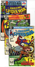 Modern Age (1980-Present):Superhero, The Amazing Spider-Man Group (Marvel, 1981-91) Condition: AverageVF. Spidey swings into the Modern Age in this group which ...(Total: 61 Comic Books)
