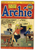 Golden Age (1938-1955):Humor, Archie Comics #41 (Archie, 1949) Condition: VG+. Overstreet 2005 VG4.0 value = $40....