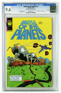 Battle of the Planets #7 File Copy (Gold Key, 1980) CGC NM+ 9.6 Off-white to white pages. Win Mortimer art. Low print ru...