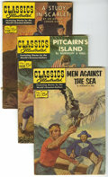 Silver Age (1956-1969):Classics Illustrated, Classics Illustrated Group (Gilberton, 1964-86). ClassicsIllustrated/Others Group (Gilberton, 1964-). This lot of 87 bo...