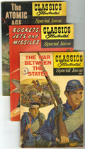 Bronze Age (1970-1979):Classics Illustrated, Classics Illustrated Special Issue Group (Gilberton, 1954-61)Condition: VG. This group contains issues #132 featuring The S...(Total: 10 Comic Books)