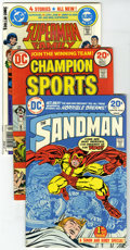 Bronze Age (1970-1979):Miscellaneous, DC Superhero Group (DC, 1973-82) Condition: Average FN/VF. Thisgroup contains Champion Sports #1, DC Super Stars #1... (Total: 13Comic Books)