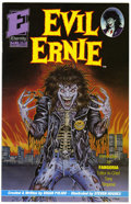 Modern Age (1980-Present):Alternative/Underground, Evil Ernie #1 (Eternity, 1991) Condition: FN. Containing the fristappearance of Lady Death by Steven Hughes, Evil Ernie...