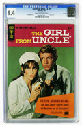 Silver Age (1956-1969):Adventure, Girl From U.N.C.L.E. #1 File Copy (Gold Key, 1967) CGC NM 9.4 Cream to off-white pages. Stephanie Powers front and back phot...