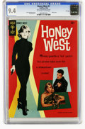Silver Age (1956-1969):Adventure, Honey West #1 File Copy (Gold Key, 1966) CGC NM 9.4 Off-white to white pages. Photo cover of Anne Francis as Honey West. Jac...