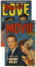 Golden Age (1938-1955):Romance, Movie Love #13 and 17 Group (Famous Funnies, 1952) Condition:Average GD/VG. Group includes: #13 (Ronald Reagan photo cover,...(Total: 2)