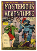 Golden Age (1938-1955):Horror, Mysterious Adventures #3 (Story Comics, 1951) Condition: VG-. Coverby Goldfarb Baer. Overstreet 2005 VG 4.0 value = $70....