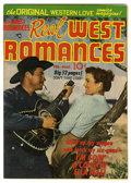 Golden Age (1938-1955):Romance, Real West Romances V1#6 (Prize, 1950) Condition: FN+. RobertPreston and Cathy Downs Photo cover. Overstreet 2005 FN 6.0 val...