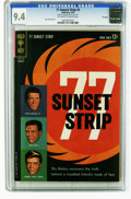 Silver Age (1956-1969):Miscellaneous, 77 Sunset Strip #2 File Copy (Gold Key, 1963) CGC NM 9.4 Off-white to white pages. Russ Manning art. Overstreet 2005 NM- 9.2...