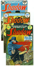 Bronze Age (1970-1979):Miscellaneous, The Shadow Group (DC, 1973-74). This group contains issues #1, 2,and 3. Issue 1 is in VF+ condition, and issues 2 and 3 are...(Total: 3)