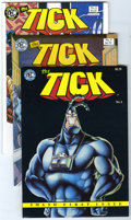 Modern Age (1980-Present):Humor, The Tick Group (New England Comics, 1988-91) Condition: AverageVF/NM. Group of 35 The Tick comics includes many multipl... (Total:35 Comic Books)