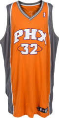 Basketball Collectibles:Uniforms, 2008-09 Shaquille O'Neal Game Worn Phoenix Suns Jersey with Letterof Provenance from Equipment Manager. ...