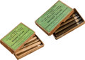 Ammunition, Lot of 2 Boxes of Antique Sharps Rifle Ammunition by UMC.... (Total: 2 Items)