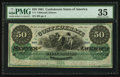 Confederate Notes:1861 Issues, T4 $50 1861 PF-2 Cr. 4.. ...