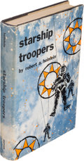 Books:Science Fiction & Fantasy, Robert A. Heinlein. Starship Troopers. New York: G. P.Putnam's Sons, [1959]. First edition, first printing (as per ...