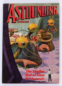Astounding Stories - June 1936 Signed by H. P. Lovecraft (Street & Smith) Condition: FN+