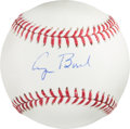 Baseball Collectibles:Balls, 2000's President George H.W. Bush Single Signed Baseball....