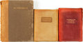 Books:Literature Pre-1900, [Drama & Poetry]. Group of Three Books. Various publishers and dates.... (Total: 3 Items)