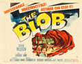 "Movie Posters:Science Fiction, The Blob (Paramount, 1958). Half Sheet (22"" X 28"").. ..."