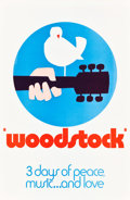 "Movie Posters:Rock and Roll, Woodstock (Warner Brothers, 1970). One Sheet (27"" X 41"") ""Wilding""Style C.. ..."