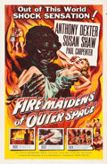 """Movie Posters:Science Fiction, Fire Maidens of Outer Space (Topaz, 1956). One Sheet (27"""" X 41"""")....."""