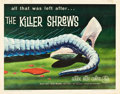 "Movie Posters:Science Fiction, The Killer Shrews (McLendon Radio Pictures, 1959). Half Sheet (22""X 28"").. ..."