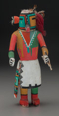 American Indian Art:Kachina Dolls, A Hopi Cottonwood Kachina Doll . Representing Malo...