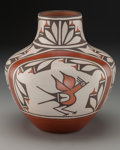 American Indian Art:Pottery, A Zia Polychrome Jar. Ruby Panana...