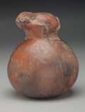 American Indian Art:Pottery, A Playas Effigy Pot...