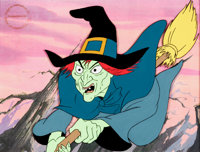 Journey Back To Oz Wicked Witch of the West Production Cel (Filmation, 1974)