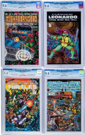 Modern Age (1980-Present):Superhero, Teenage Mutant Ninja Turtles CGC-Graded Group (Mirage Studios,1985-86).... (Total: 4 Comic Books)