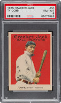 Baseball Cards:Singles (Pre-1930), 1915 Cracker Jack Ty Cobb #30 PSA NM-MT 8....