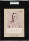 Baseball Cards:Singles (Pre-1930), 1902-11 W600 Sporting Life Cabinet Cy Young, SGC 60 EX 5. ...