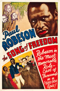 """Movie Posters:Black Films, Song of Freedom (Song of Freedom, Inc., 1936). One Sheet (27"""" X 41"""").. ..."""