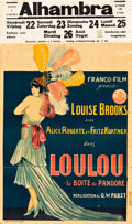 "Movie Posters:Foreign, Pandora's Box (Franco-Film, 1929). Pre-War Belgian (24"" X 33.5"").. ..."