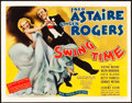 "Movie Posters:Musical, Swing Time (RKO, 1936). Title Lobby Card (11"" X 14"").. ..."
