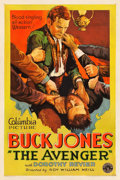"Movie Posters:Western, The Avenger (Columbia, 1931). One Sheet (27"" X 41"").. ..."