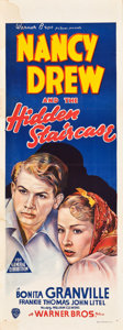 "Movie Posters:Mystery, Nancy Drew and the Hidden Staircase (Warner Brothers, 1939). Pre-War Australian Daybill (15"" X 40"").. ..."