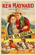 """Movie Posters:Western, Come On, Tarzan (World Wide Pictures, 1932). One Sheet (27"""" X 41"""").. ..."""