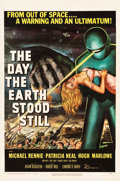 "Movie Posters:Science Fiction, The Day the Earth Stood Still (20th Century Fox, 1951). One Sheet(27"" X 41"").. ..."