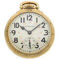 Timepieces:Pocket (post 1900), Hamilton 23 Jewel 950 B 24-Hour Pocket Watch. ...