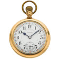 Timepieces:Pocket (post 1900), E. Howard 21 Jewel Series 10 Open Face Pocket Watch. ...