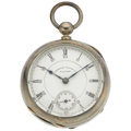 Timepieces:Pocket (pre 1900) , Waltham 15 Jewel Appleton Tracy Model 1883 Pocket Watch. ...