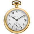 Timepieces:Pocket (post 1900), Hamilton 21 Jewel 990 Open Face Pocket Watch. ...