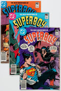 Modern Age (1980-Present):Superhero, New Adventures of Superboy Box Lot (DC, 1980-82) Condition: AverageVF/NM....
