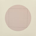 Post-War & Contemporary:Contemporary, Robert Mangold (American, b. 1937). Distorted Square within aCircle 2, 1973. Screenprint in colors. 20 x 20 inches (50....