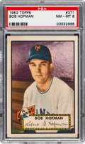 Baseball Cards:Singles (1950-1959), 1952 Topps Bob Hofman #371 PSA NM-MT 8. This high ...